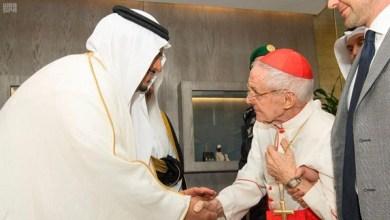 Photo of رئيس المجلس البابوي لحوار الأديان بالفاتيكان يصل الرياض