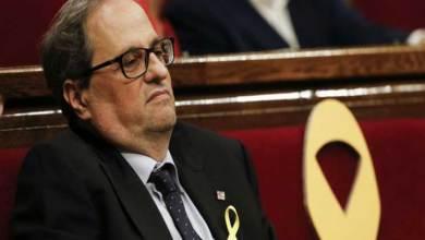 Photo of رئيس كتالونيا يعين مسؤولين مسجونين ومنفيين ضمن حكومته