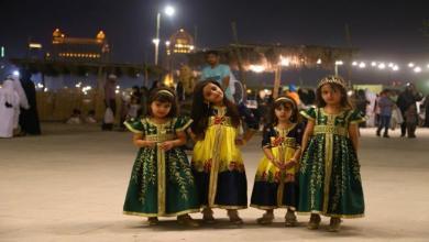 "Photo of أطفال قطر يحيون ""القرنقعوه"" ويدعون لمن يكرمهم بزيارة مكة"