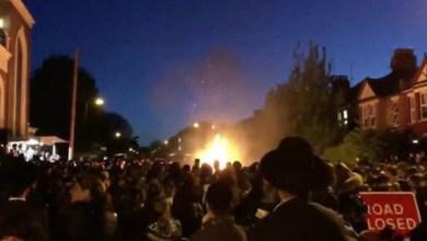 Photo of إصابة نحو 30 شخصاً بانفجار شمال لندن