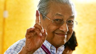 Photo of مهاتير ذو الـ 92 عاماً يفوز بمنصب رئيس الوزراء في ماليزيا