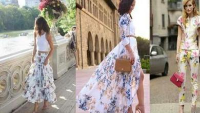 Photo of هذه النقوش تغزو الموضة النسائية هذا الصيف