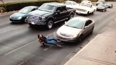 Photo of شاهد.. كيف تسبب الكعب العالي في دهس امرأة
