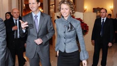 Photo of الأسد وزوجته يظهران في أحد مطاعم دمشق (صور)
