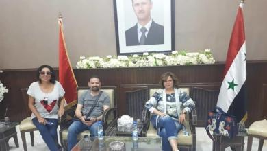 Photo of إلهام شاهين بدمشق وتثير الغضب مجددا: الأسد علمنا العزة