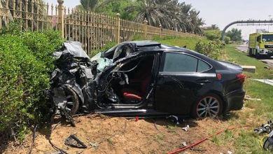 Photo of إصابة مواطن في حادث تصادم 3 مركبات بأبوظبي
