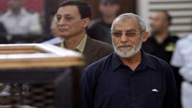 Photo of محكمة مصرية تأمر بإعادة محاكمة مرشد الإخوان