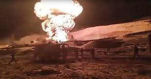Photo of حريق كبير في حقل نفط بمصر والجيش يتدخل