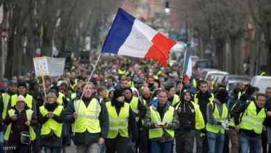 """Photo of آلاف """"السترات الصفراء"""" تهدد ليلة الشانزلزيه.. وذعر في فرنسا"""