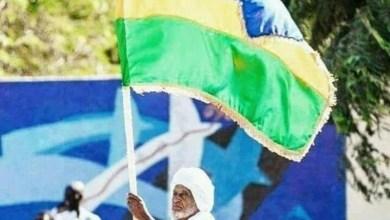 Photo of علم غير مألوف يرفعه السودانيون في التظاهرات.. ما قصته؟