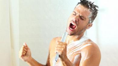 Photo of الغناء خلال الاستحمام مفيد للقلب وصحة البشرة