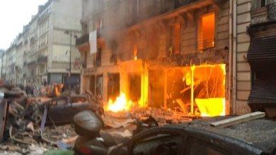 Photo of انفجار قوي يهز باريس ويوقع عدداً من الجرحى