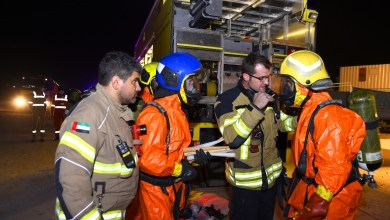 Photo of وفاة شخص وانقاذ 93 آخرين في حادث تسرب غاز بصناعية الشارقة