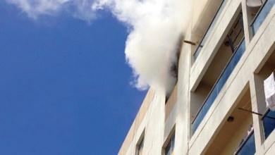 Photo of السيطرة على حريق في شقة سكنية بعجمان