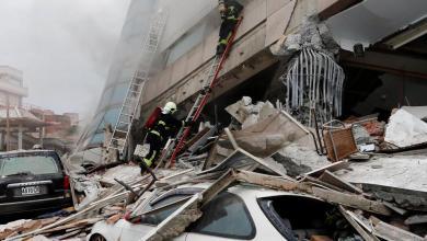 Photo of زلزال بقوة 6.4 يضرب تايوان ويهز مباني العاصمة