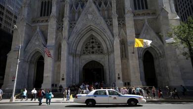 Photo of توقيف شخص يحمل مواد قابلة للاشتعال بكاتدرائية في نيويورك