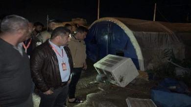 Photo of السيول تدمّر مخيمات تأوي آلاف النازحين العراقيين