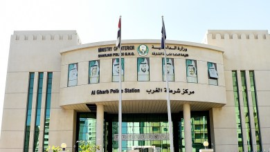 Photo of 9 نزلاء اعتنقوا الاسلام بمركز شرطة الغرب الشامل بالشارقة