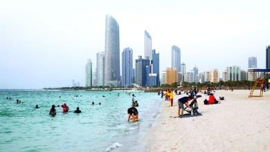 Photo of 58 ألفاً يقصدون شواطئ أبوظبي في أول أيام العيد