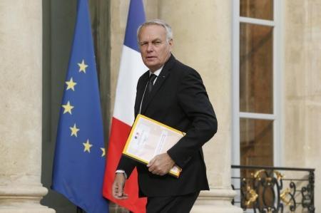 وزير الخارجية الفرنسي جان مارك إيرولت في قصر الاليزيه في باريس يوم 27 يوليو تموز 2016. تصوير: بينوا تيسييه - رويترز.