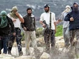 مستوطنون يهود بأسلحتهم في الضفة الغربية المحتلة
