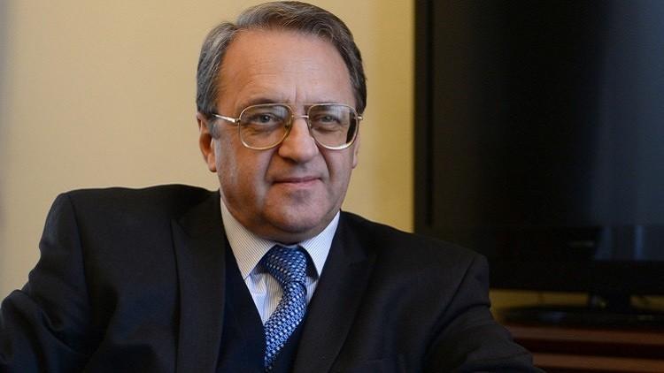 بوغدانوف يتوقع إجراء محادثات السلام السورية بداية الشهر المقبل