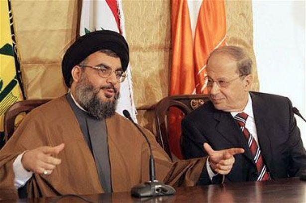 ميشال عون رئيساً للبنان برافعة حزب الله