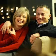 العميد شامل روكز وزوجته كلودين عون