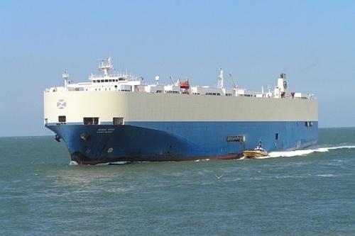 صورة افتراضية لسفينة تهريب