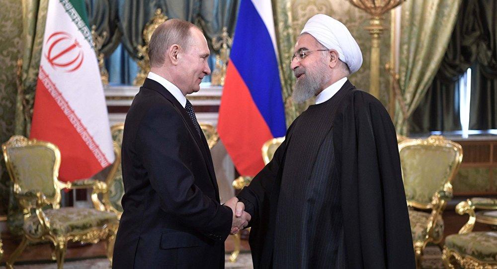بوتين يبحث الأزمة السورية هاتفياً مع روحاني