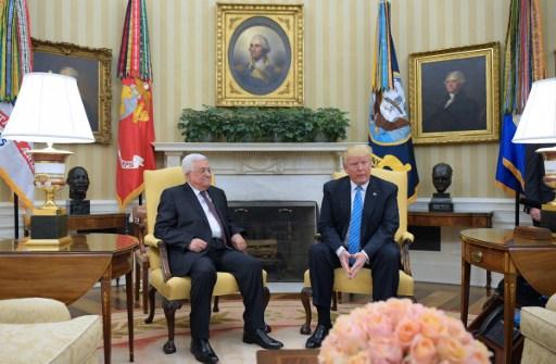 ترامب يتعهد بالسعي للسلام بين الفلسطينيين والإسرائيليين