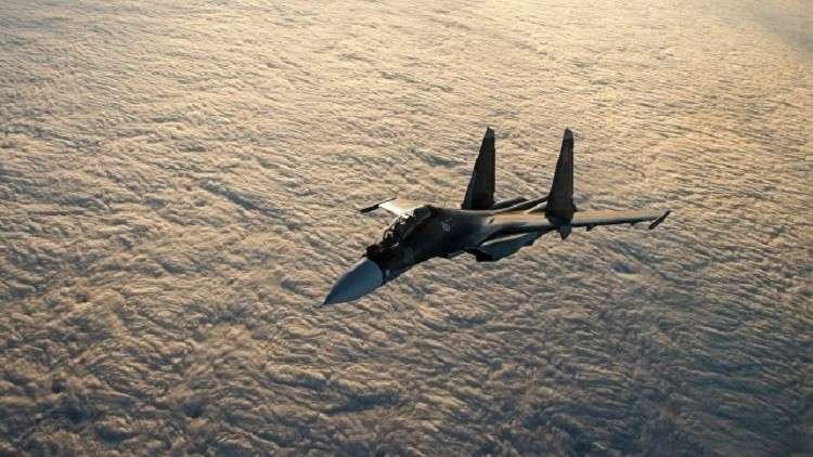 """ما هو سبب تحطم مقاتلة """"سو-30"""" الروسية في سوريا؟"""