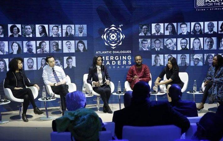 زعماء شباب يتناولون الكلمة في اختتام مؤتمر حوارات أطلسية بمراكش-المغرب