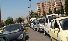 أزمة البنزين في سوريا