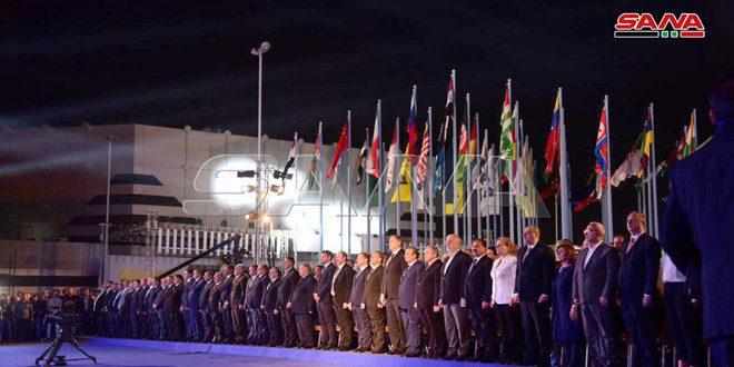 خميس يفتتح معرض دمشق الدولي