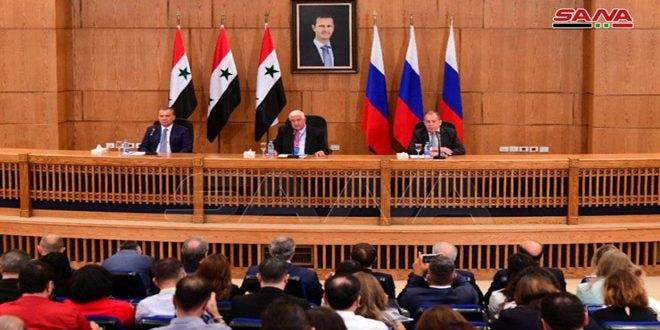 لافروف: روسيا ملتزمة بسيادة سورية ووحدة أراضيها