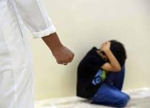 أطفال يتعرضون للإساءة الجسدية