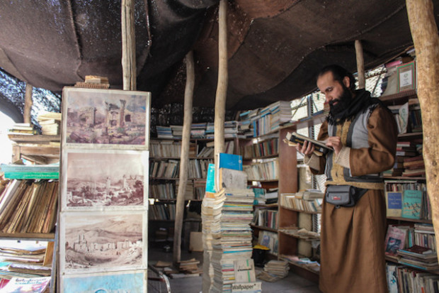 Crowdfunding Campaign for al-Maa Bookshop in Jordan, then Books in Schools, Prisons, and Camps