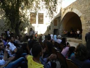 PalFest Gaza's closing night.