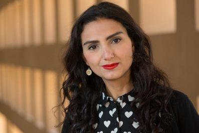 Novelist Reem Bassiouney.