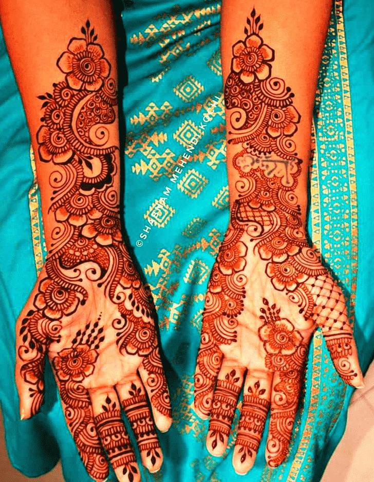 Angelic Actress Henna design