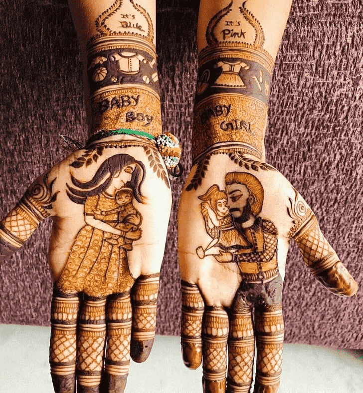 Alluring Adorable Henna design