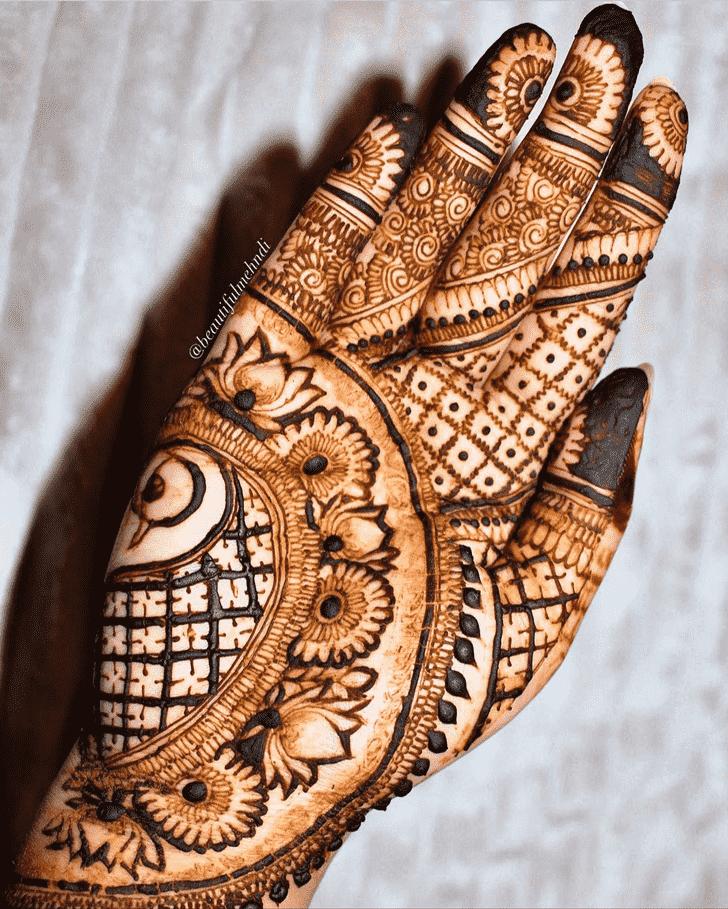 Angelic Adorable Henna design