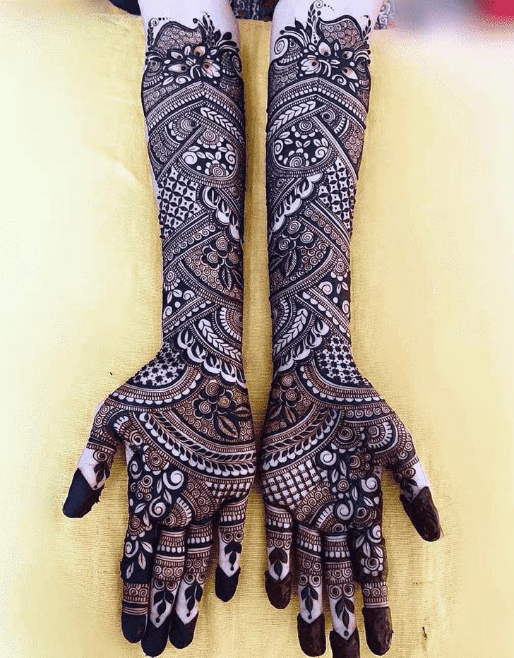 Delightful Adorable Henna design