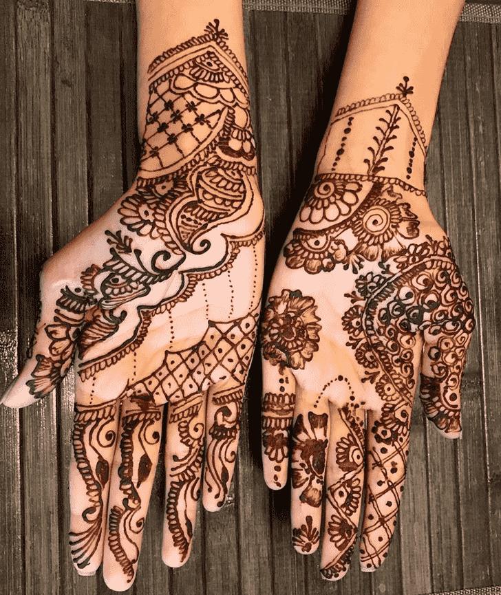 Elegant Adorable Henna design