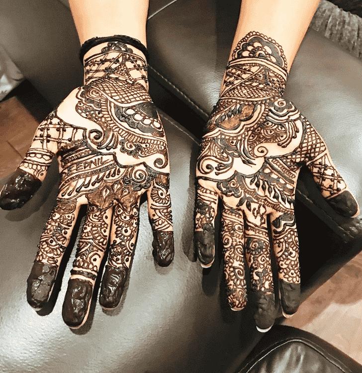 Enthralling Adorable Henna design