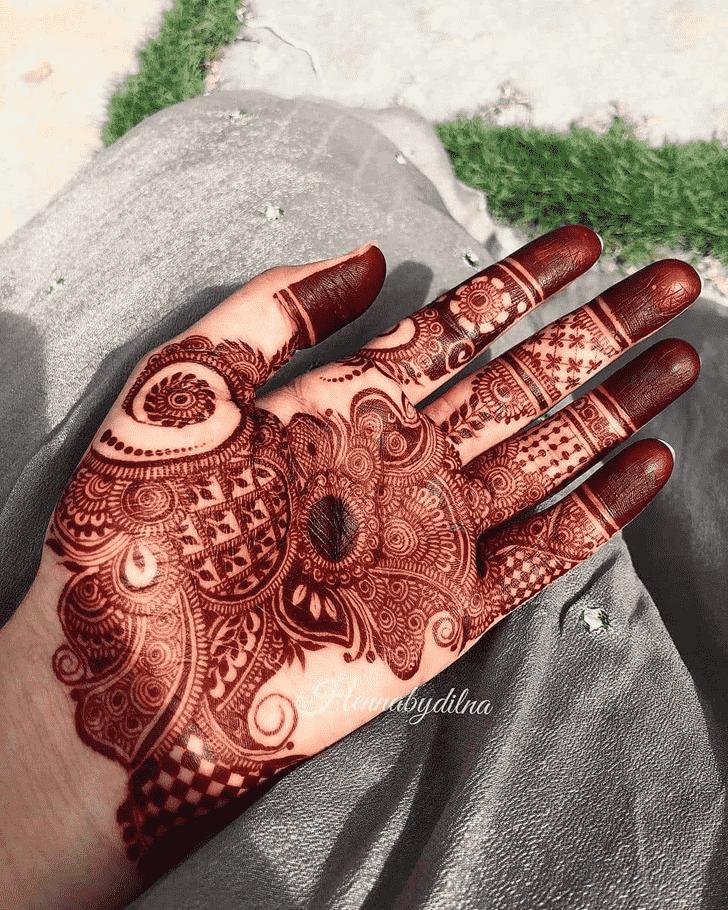 Fair Adorable Henna design