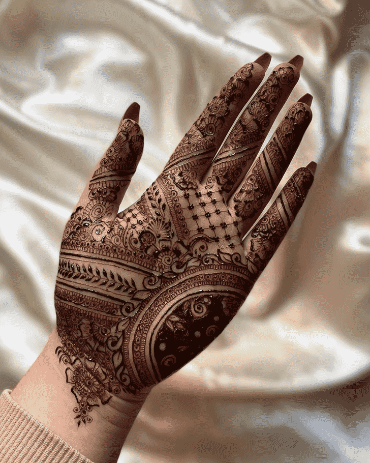 Fascinating Adorable Henna design