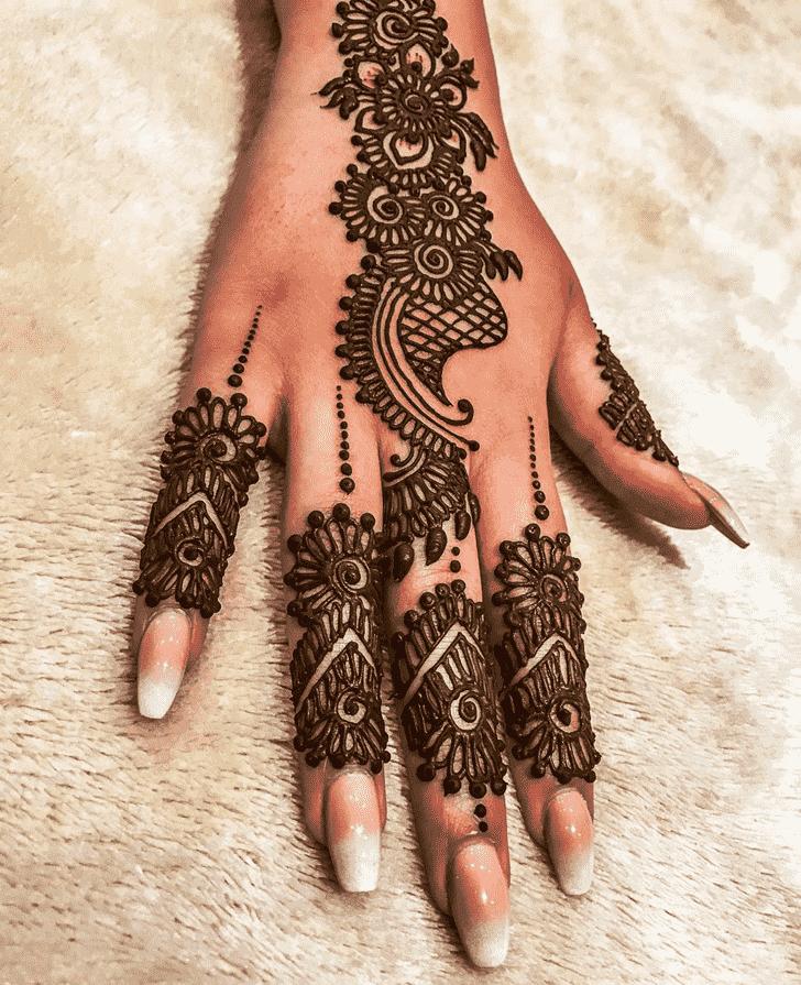 Grand Adorable Henna design