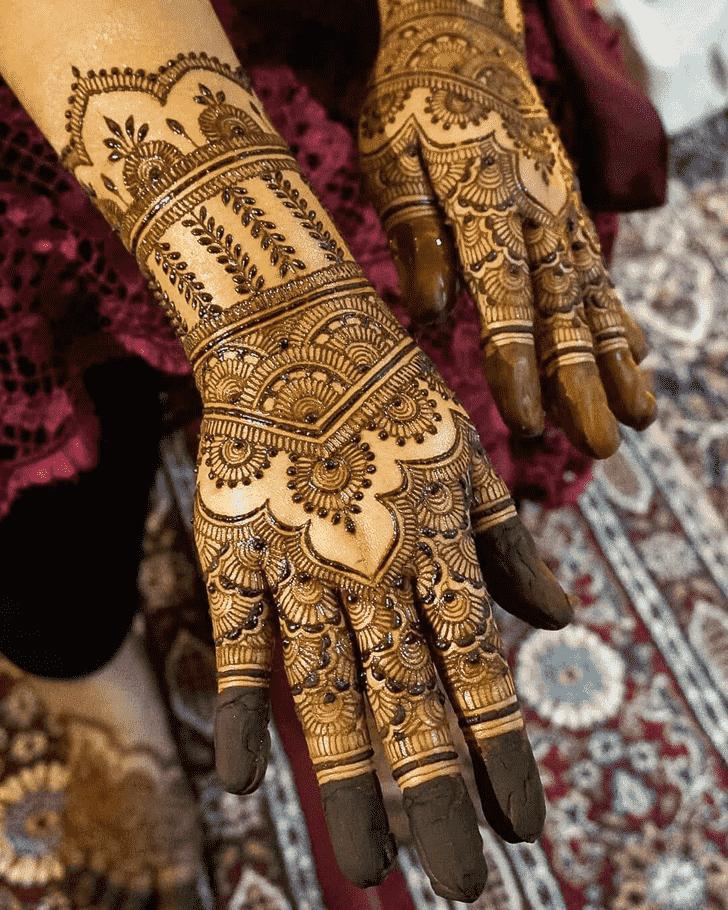Ravishing Adorable Henna design